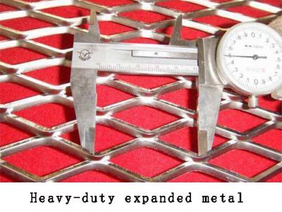 Heavy-duty expanded metal
